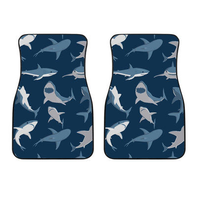 Shark Action Pattern Car Floor Mats