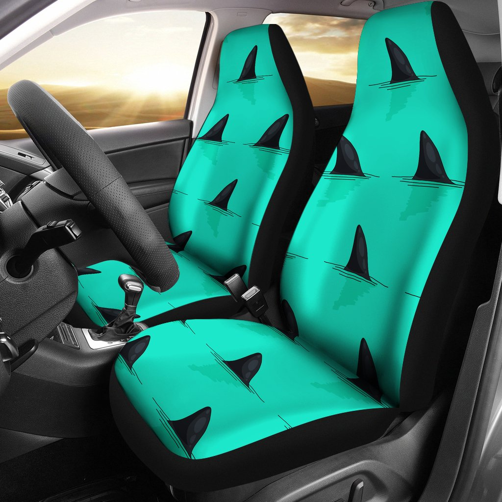 Shark Fin Pattern Universal Fit Car Seat Covers