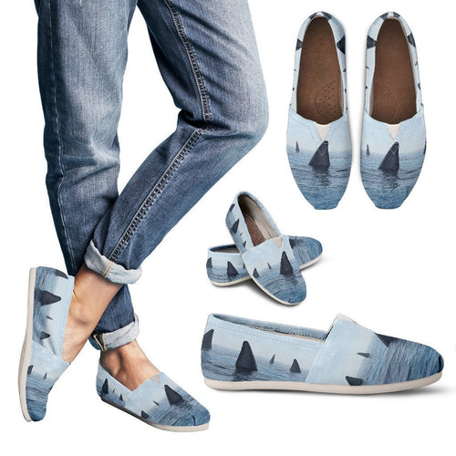 Shark fin Women Casual Shoes-JorJune.com