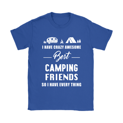 Shirt Best camping friends camp1094