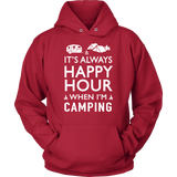 Shirt camping happy hour camp1090