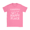 Shirt camping is my happy place camp1092