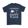 Shirt Camping is my happy place camp1099