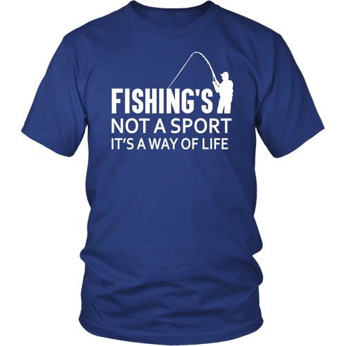 Shirt Fishing's not a sport FIS1003