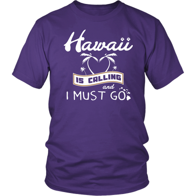 Shirt Hawaii calling HAW1010