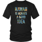 Shirt hawaii is alway a good idea haw1009