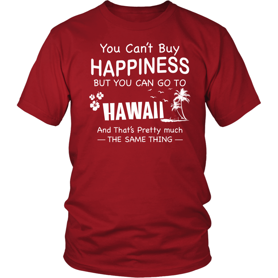Shirt Hawaii is happiness HAW1016