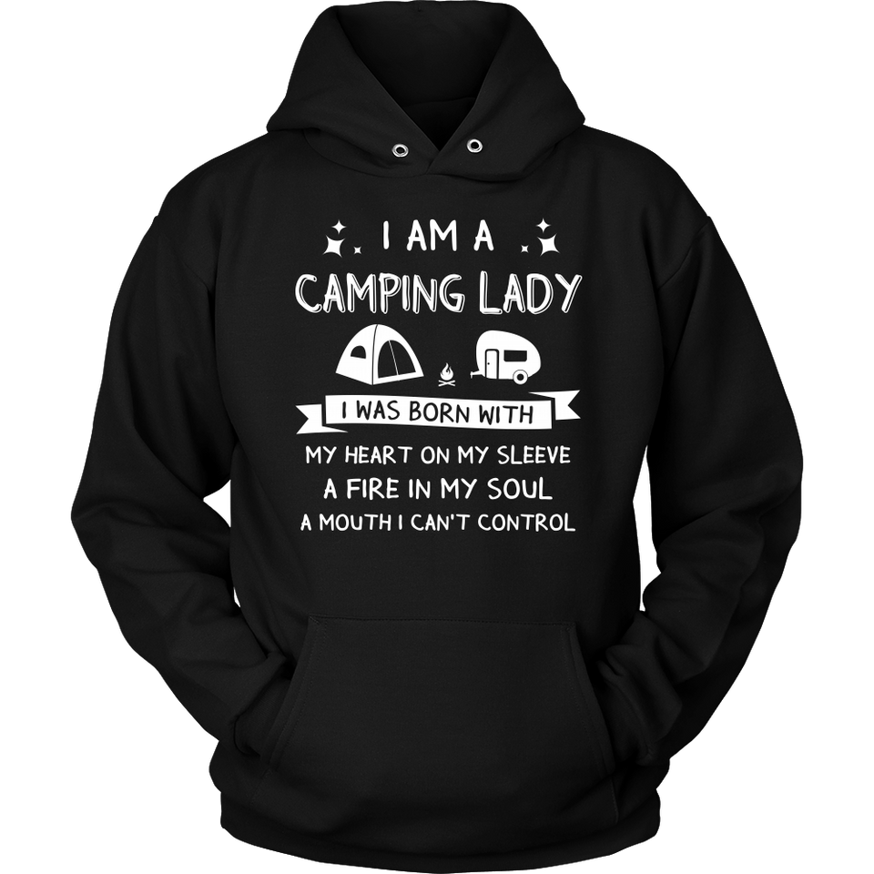 Shirt i'm a camping lady camp1100