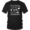 Shirt Job passion Teacher TEA1001