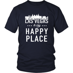 SHIRT - LAS VEGAS IS MY HAPPY PLACE VG1002