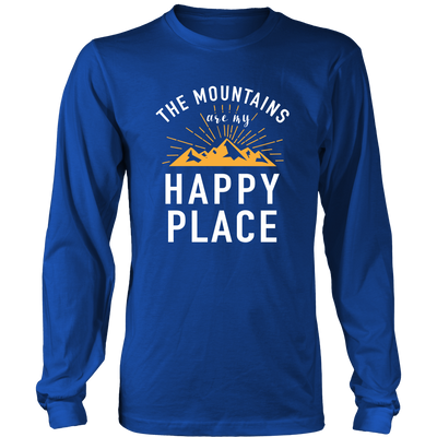 Shirt Mountains happy place MT1002
