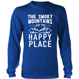 Shirt Smoky mountains happy place MT1005