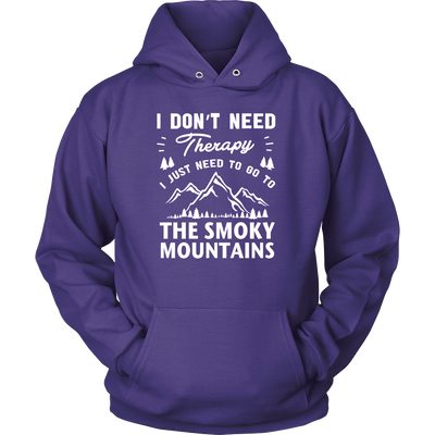 Shirt Smoky mountains therapy MT1006