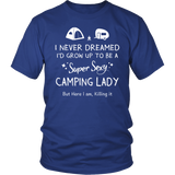 Shirt Super sexy camping lady CAMP1023