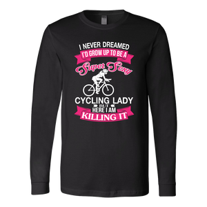Shirt Super sexy cycling lady CYC1003