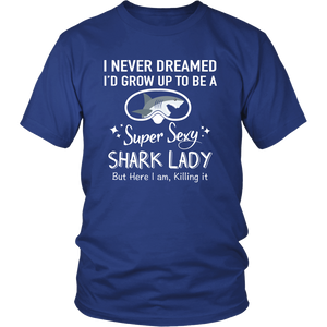 SHIRT - SUPER SEXY SHARK LADY SCD1004