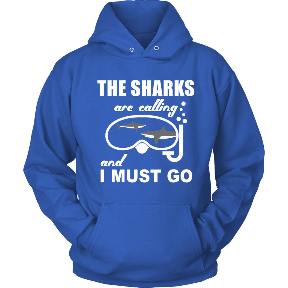 SHIRT - THE SHARKS ARE CALLING SCD1002