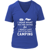 shirts i really just want to talk about camping camp1089