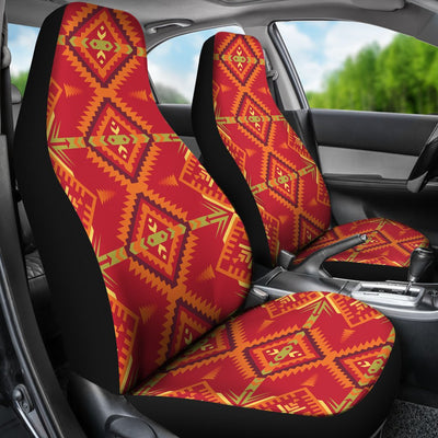 Southwest Aztec Design Themed Print Universal Fit Car Seat Covers-JorJune