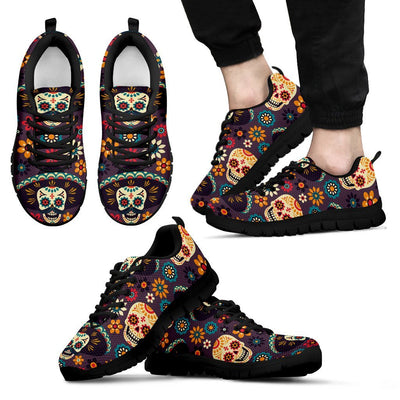 sugar skull Maxican Pattern Men Sneakers