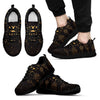 Sun Moon Boho Style Men Sneakers