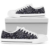 Sun Moon Pattern Men Low Top Shoes