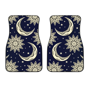 Sun Moon Star Car Floor Mats