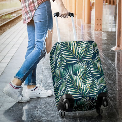 Sun Spot Tropical Palm Leaves Luggage Protective Cover