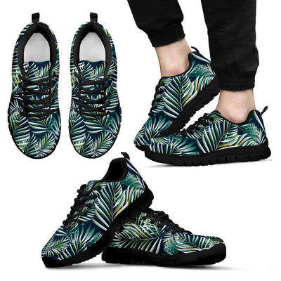 Sun Spot Tropical Palm Leaves Men Sneakers