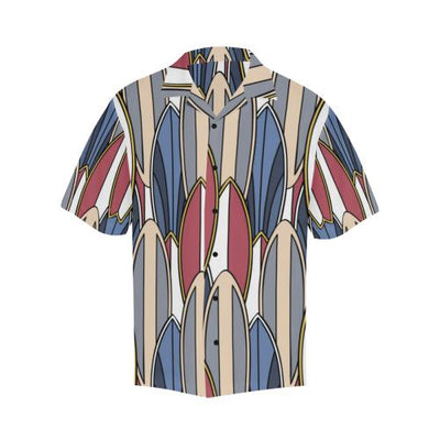 Surf board Pattern Men Hawaiian Shirt