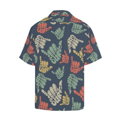Surf Hand sign Men Hawaiian Shirt