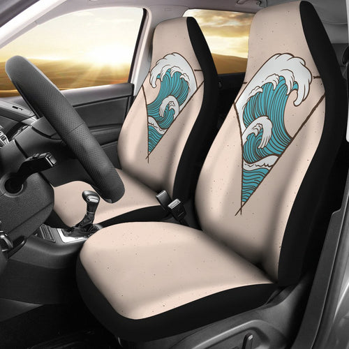 Surfing Universal Fit Car Seat Covers