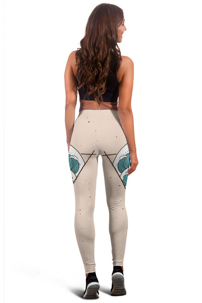 Surfing Women Leggings