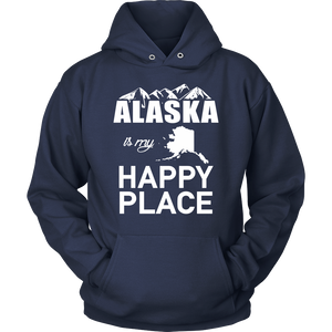T-Shirt alaska is my happy place ALA1004