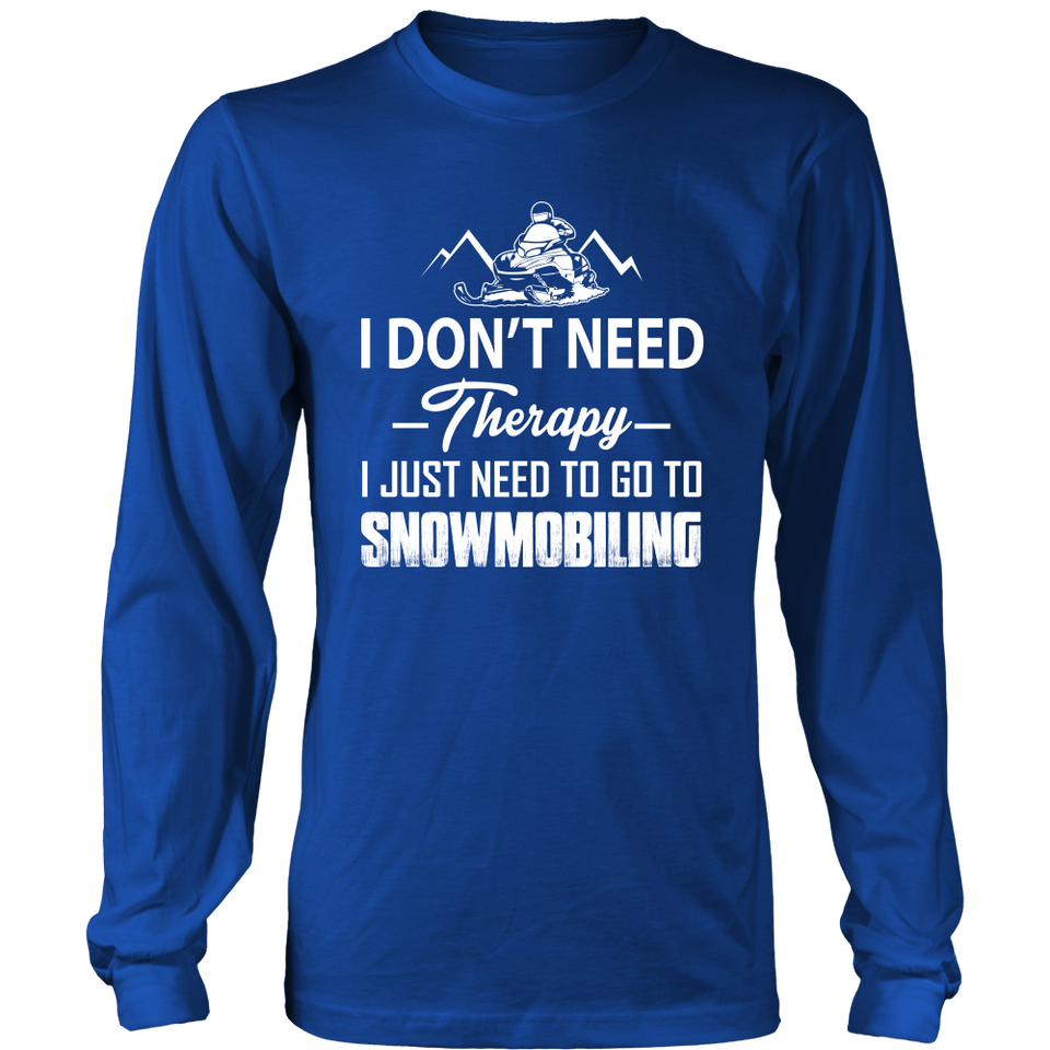 T-Shirt go to snowmobile SM1002