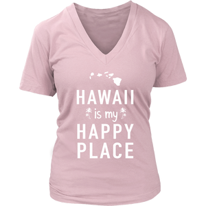 T-Shirt hawaii is my happy place HAW1023