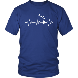 T-Shirt heartbeat HAW1004