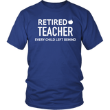 T-Shirt hoodie retired teacher TEA1004