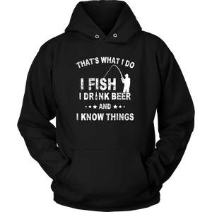 T-Shirt i fish i drink beer FIS1008
