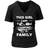 T-shirts hoodie love camping with her family hoodies sweatshirts Vnecks long sleeves CAMP1007D2