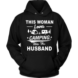 T-shirts hoodie love camping with her husband hoodies sweatshirts Vnecks long sleeves CAMP1007D2