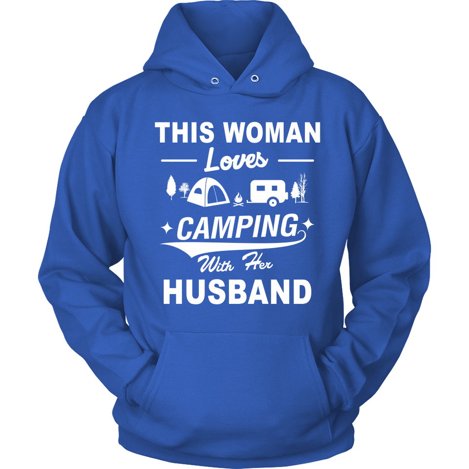 dfd77115f ... T-shirts hoodie love camping with her husband hoodies sweatshirts  Vnecks long sleeves CAMP1007D2 ...