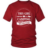 T-shirts hoodie love camping with husband hoodies sweatshirts Vnecks long sleeves CAMP1007