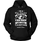 T-Shirts i'm tent pitchin camping hoodies sweatshirts Vnecks long sleeves CAMP1020