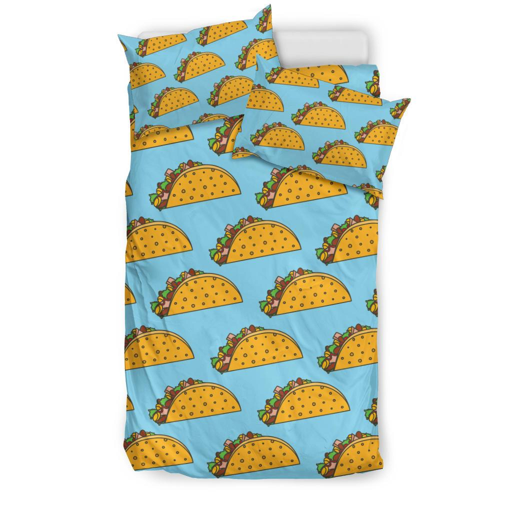 Taco Pattern Print Design TC03 Duvet Cover Bedding Set-JORJUNE.COM