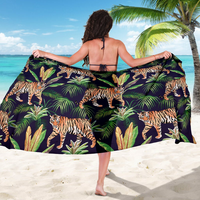 Tiger Jungle Sarong Pareo Wrap