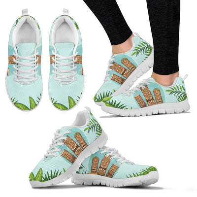 Hawaiian Polynesian Tiki Women Sneakers