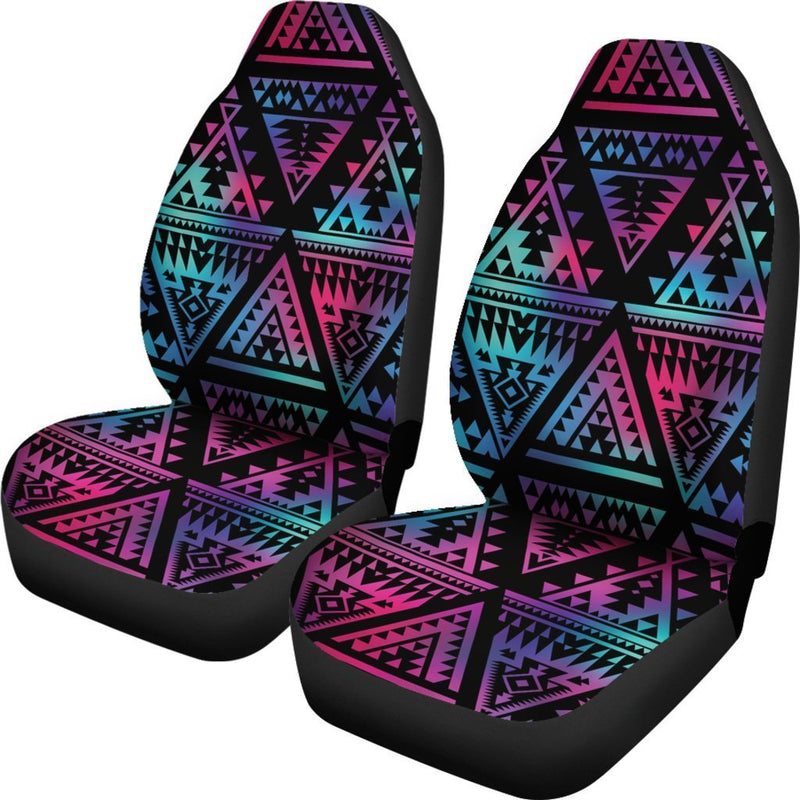 Tribal aztec Dark Multicolor Universal Fit Car Seat Covers