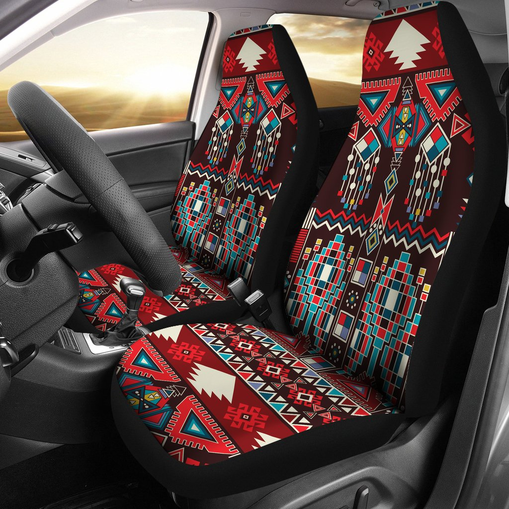 Tribal Aztec Indians native american Universal Fit Car Seat Covers