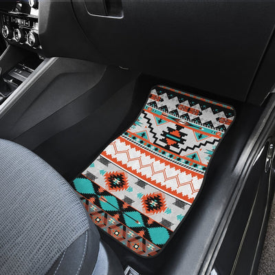 Tribal Aztec Indians pattern Car Floor Mats
